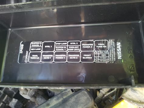 nissan box relay box diagram 2005 nissan frontier nissan auto parts