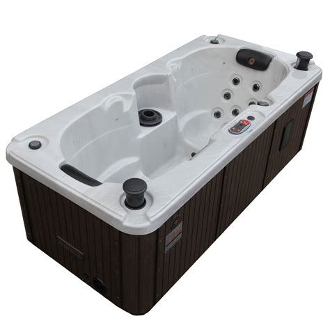 sauna and play canadian spa co 2 person 17 jet yukon and play spa