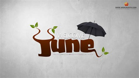 June Calendar Wallpaper 2012 Free Download Summer Hd