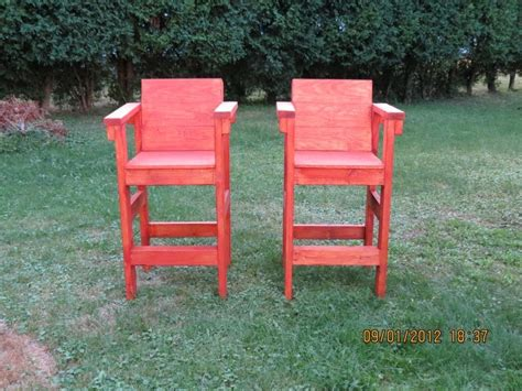 deck stools made from 2x4 s 001