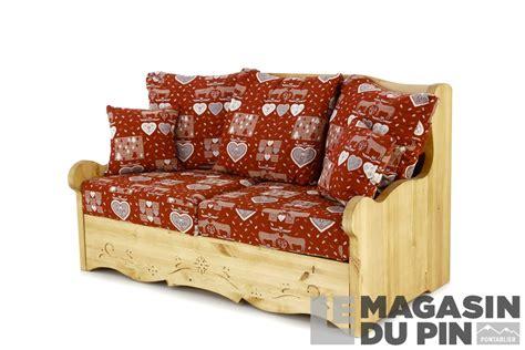 canapé en pin canapés et fauteuils en pin massif le magasin du pin