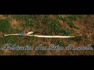 Poids D Une Stère De Bois : fabrication d 39 un b ton de marche en bois youtube ~ Carolinahurricanesstore.com Idées de Décoration