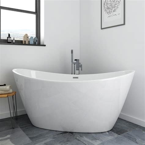 free standing bathtubs sofia 1700 x 800mm modern ended
