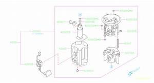 Subaru Tribeca Gasket-fuel Pump  Tank  Engine  Cooling