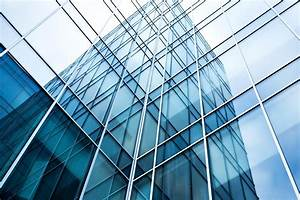 transparent glass wall of office building | Sander ...
