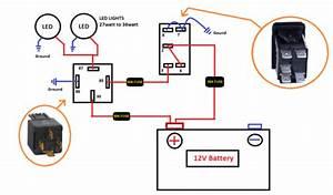 12v Light Switch Wiring Diagram