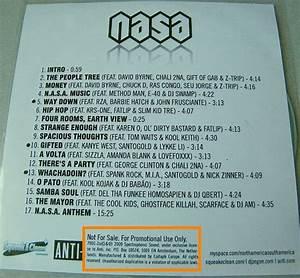 CD promo 17 titres Collector de N.A.S.A. - advanced ...