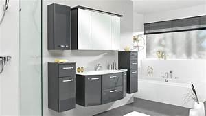 Led Beleuchtung Badezimmer : pelipal badezimmer velo in anthrazit hochglanz inkl led beleuchtung ~ Markanthonyermac.com Haus und Dekorationen