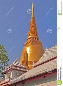 Wat Bowonniwet Vihara Rajavaravihara Bangkok Thailand Royalty Free Stock Image