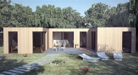 maison en bois bioclimatique contemporaine de qualit 233