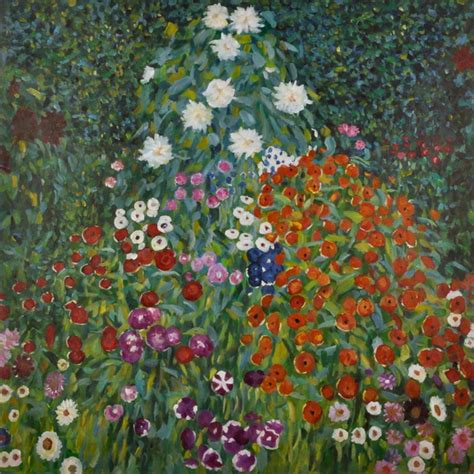 gustav klimt flowers www imgkid the image kid has it