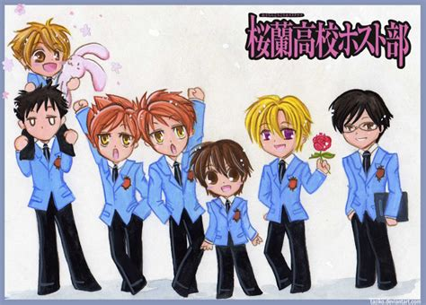 The Gallery For --> Ouran Highschool Host Club Wallpaper Chibi