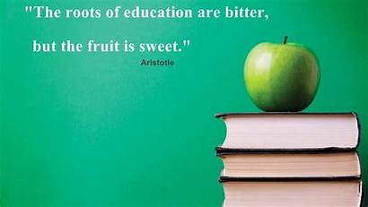 Education Quotes Aristotle Wallpapers Educational Background Quote