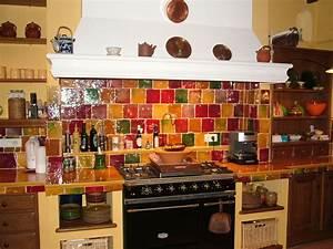 Carrelage cuisine provencale for Carrelage mural cuisine provencale