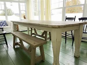 table sur mesure salle a manger cuisine antique lanaudiere With table salle À manger sur mesure pour deco cuisine