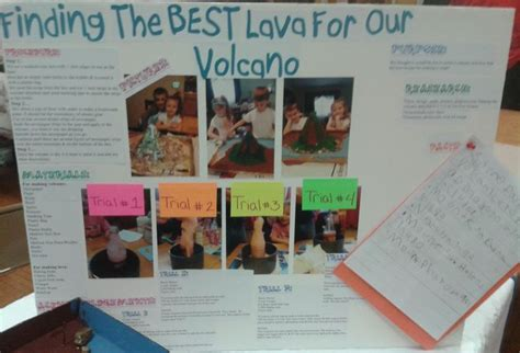 lava l experiment hypothesis display board for science fair project anthony
