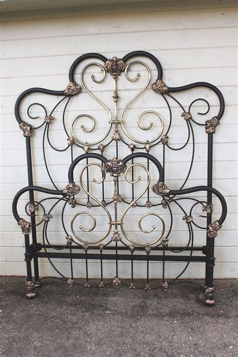 Antique Wrought Iron King Headboard by 25 Best Ideas About Antique Beds On Pink