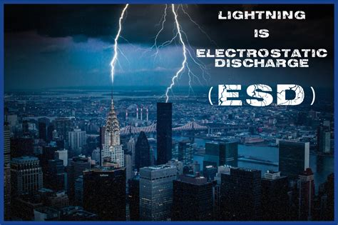The Dangers Of Esd For Manufacturing Electronics