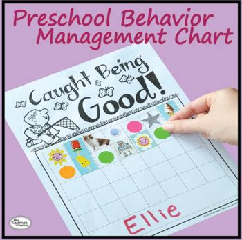 behavior strategies for preschoolers preschool behavior management chart by miss rayanna s 103