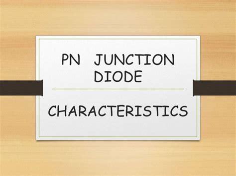 Junction Diode Characteristics Lab Expriment