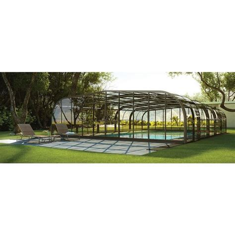 la pose d un abri de piscine 224 1 avec abri de piscine rideau