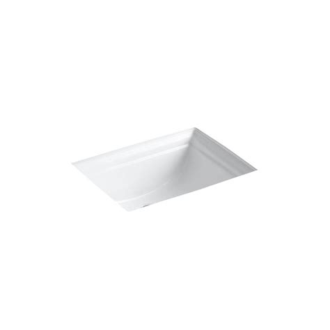 kohler memoirs undermount bathroom sink in white kohler memoirs vitreous china undermount bathroom sink in