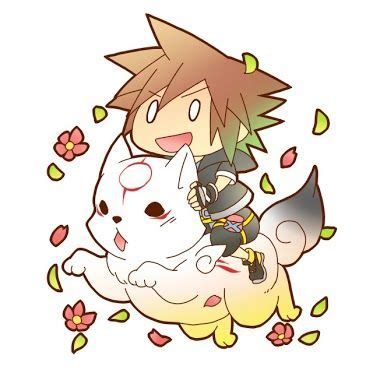 epic dawwwww ssover kingdom hearts sora kingdom