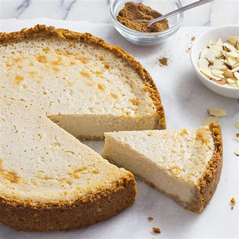cottage cheese pie cinnamon almond california cottage cheese pie