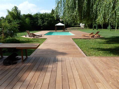 plancher bois piscine exterieur bardage bois ext 233 rieur am 233 nagement ext 233 rieur bois terrasse en bois sur mesure 224 75
