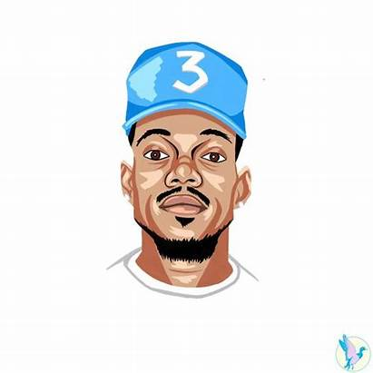 Rapper Chance Clipartmag Clipart Drawing