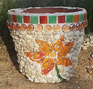 Mosaik Basteln Mit Kindern : diy mosaik auf einem tontopf individuell und dekorativ ~ Lizthompson.info Haus und Dekorationen