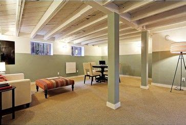 17 best ideas about unfinished basement storage on