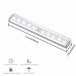 Infrared Light Bulb Lowes Buy Motion Sensor Led Lights For Closet And Stairs Of 10