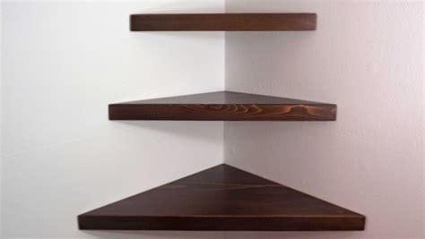 Lovely Design Of Floating Corner Wall Shelves Best Home