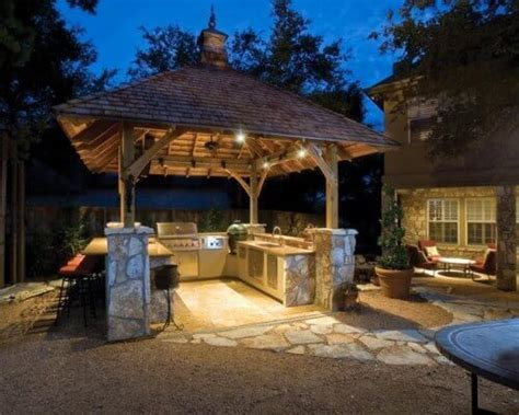 covered outdoor grill area 40 outdoor kitchen ideas designs 2017 2018 decorationy