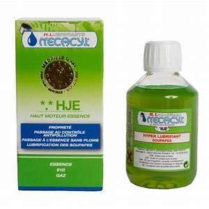 Essence Sans Plomb : hyper lubrifiant hje essence mecacyl additif essence ~ Medecine-chirurgie-esthetiques.com Avis de Voitures