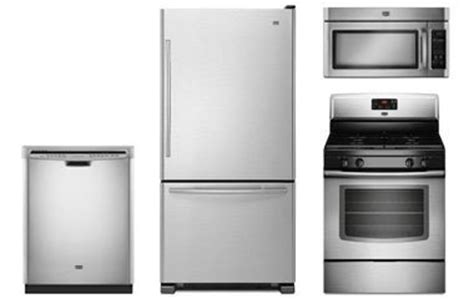 Maytag Kitchen Stainless Appliance Package  Abtcom