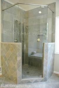 interesting walk in corner shower Luxury master bathrooms, Corner showers and Large format ...