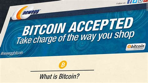 Newegg has been accepting bitcoin payments from u.s. Bitcoin is a PayPal competitor - not a currency - for retailers