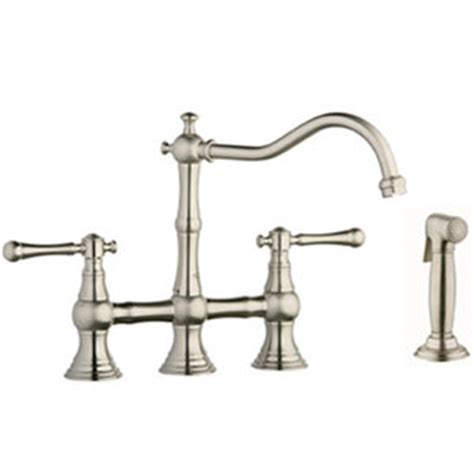 ferguson grohe kitchen faucets g20158en0 g18244en0 bridgeford two handle kitchen faucet