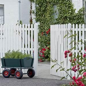 Gartenzaun Weiß Holz : gartenzaun holz skagen wei 150cm ~ Michelbontemps.com Haus und Dekorationen