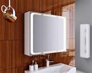 Beleuchtung Für Bad : bad spiegelschrank beleuchtung led in modernem design mit viel stauraum ~ Indierocktalk.com Haus und Dekorationen