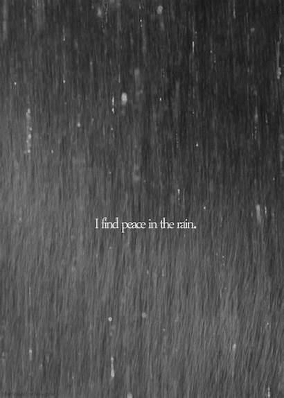 Rain Peace Google Peaceful Gifs Quotes Raining