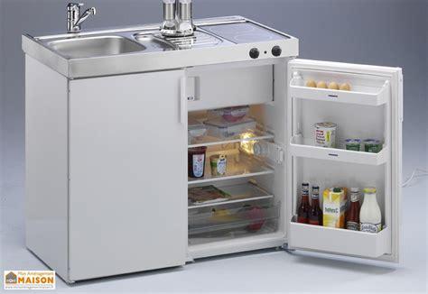 mini frigo chambre mini cuisine avec frigo et vitrocéramique mk100 blanche