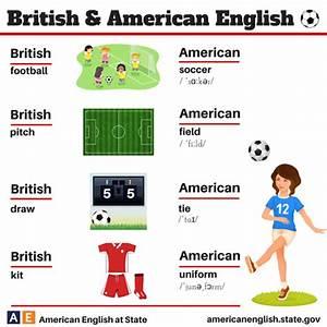 Brit Am Soccer Vocab - PE-Project