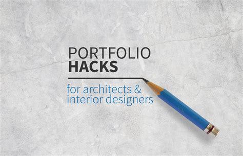 Architecture Portfolio Hacks How To Create A Recruiter