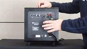 Polk Audio Powered Subwoofer Wiring