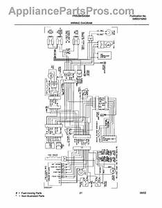 Parts For Frigidaire Frs26h5asb4  Wiring Diagram Parts