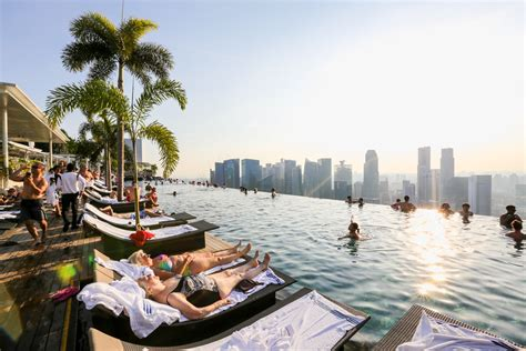 Swimming Top Singapore Marina Bay Sands Hotel