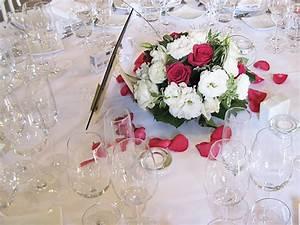 Deco Mariage Romantique : une d coration florale de mariage romantique ~ Nature-et-papiers.com Idées de Décoration